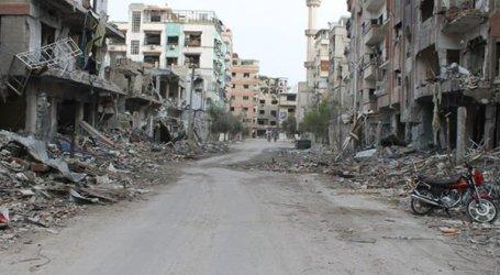 منازل المهجرين في دوما يستولي عليها ضباط من الساحل السوري