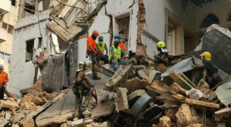 العثور على ناجين بعد شهر من انفجار مرفأ بيروت في لبنان
