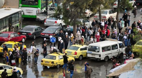 دمشق تشهد أزمة مواصلات جديدة والسلطات تبرر