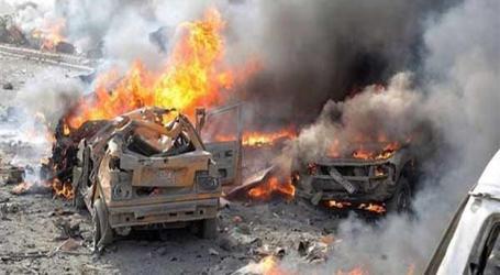الباب تشهد انفجارا ضخما يقتل ويجرح مئات المدنيين