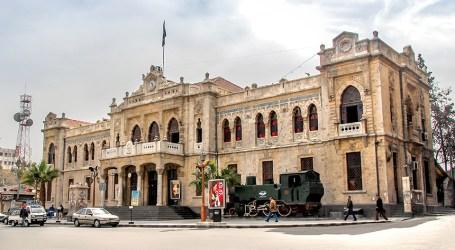 """جدل واسع بعد البدء بتنفيذ مشروع """"نيرفانا"""" التجاري في جوار محطة الحجاز بدمشق"""