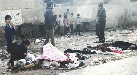 حاويات القمامة … مصدر رزق عائلات سورية دمرتها نيران الحرب والنزوح