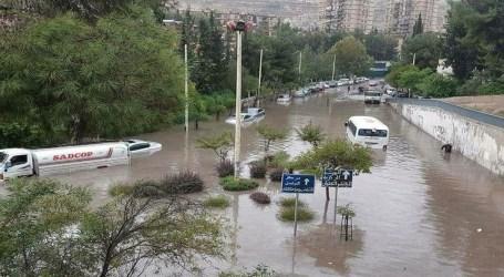الفيضانات والسيول تجتاح دمشق مع حلول فصل الشتاء