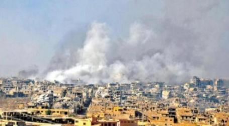 """طيران مسيّر مجهول يقصف مقرا لميليشيا """"فاطميون"""" في دير الزور"""
