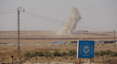 طائرة مجهولة تستهدف شحنة أسلحة للميليشيات الإيرانية قرب معبر بين سوريا والعراق