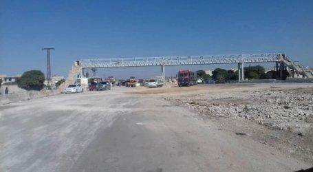 السلطة السورية تزيل 36 مخالفة بناء على محور طريق حلب – دمشق الدولي