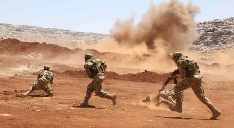 انفجار جديد يطال قوات السلطة شرق حمص و 20 غارة للطائرات الروسية بالبادية السورية