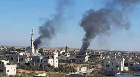 """خلال 24 ساعة.. انفجار و3 عمليات اغتيال وحملة مداهمات لـ""""الفيلق الخامس"""" في درعا"""