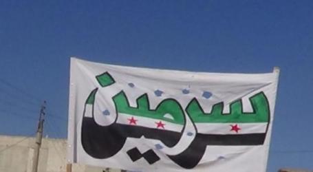 سرمين بلدة ذاقت ويلات داعش… كيف تبدو بعد القضاء عليه؟