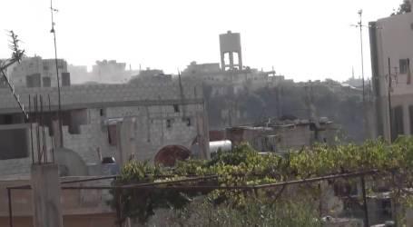 طفس على صفيح ساخن.. جرحى مدنيون وقصف ومواجهات وتعزيزات عسكرية