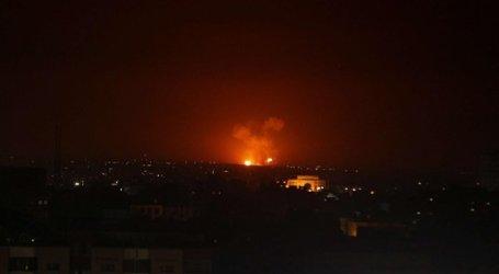 قصف إسرائيلي جديد على حماة وصواريخ الدفاع السورية تقتل عائلة بأكملها