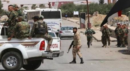حملة اعتقالات في ريف حمص ومجهولون يردون بكتابة عبارات مناهضة للسلطة