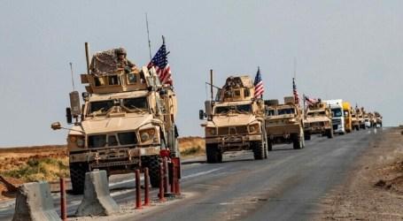 القوات الأمريكية تبدأ بإنشاء قاعدة عسكرية لها في محافظة الحسكة السورية