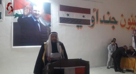 """السلطة السورية تحشد عشائر شرقي البلاد لدعم """"الأسد"""" في انتخاباته"""