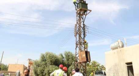 السلطة السورية تجبر أهالي ريف الرقة على دفع تواتير الكهرباء المتراكمة منذ 2013