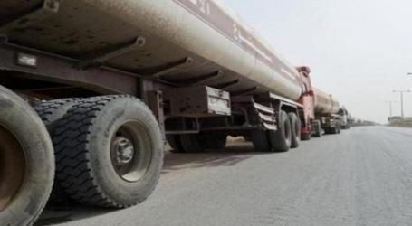 ثوار لبنان يوقفون صهريج لتهريب الوقود متجها إلى سوريا (فيديو)