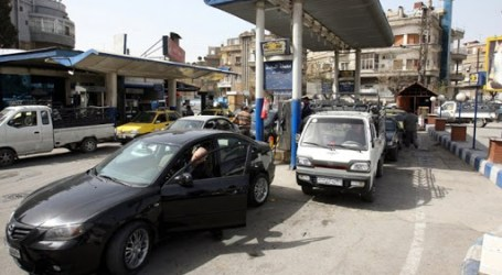 جرحى ونزاعات أمام محطات الوقود في دمشق