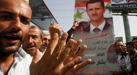 جعجع يوجه صفعة قوية لمؤيدي السلطة السورية في لبنان وتمزيق صورة الأسد