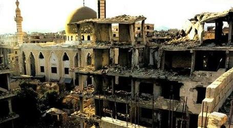 الغوطة الشرقية.. السلطة تستغل مآذن المساجد من أجل الترويج لانتخابات الأسد