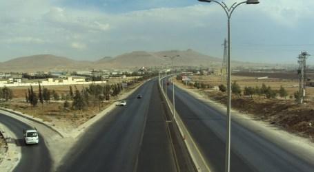 السلطة السورية تزيل حاجزا مهما في محيط دمشق