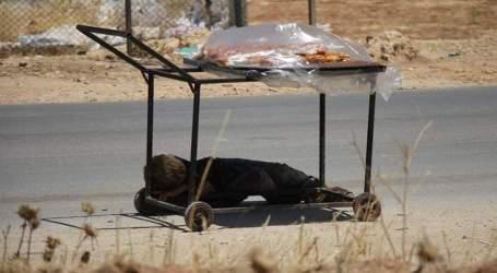 مصطفى الفجر طفل سوري يبيع المعروك ويحتمي في ظله