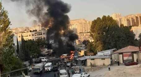 فصيل عامل شمال سوريا يتبنى تفجير حافلة للسلطة السورية بدمشق