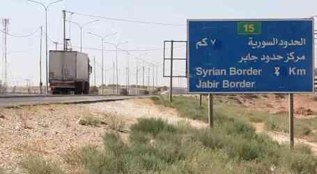 الأردن يفتح حدوده مع سوريا ويكشف عن الأسباب