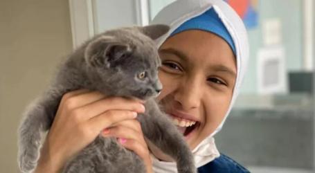 طيار كندي يحقق رغبة طفلة سورية لاجئة