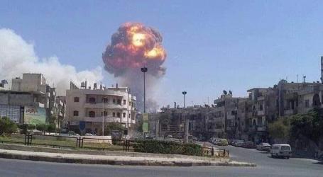 """بعد انفجار دمشق.. آخر يضرب """"الدفاع الوطني"""" في حماة"""