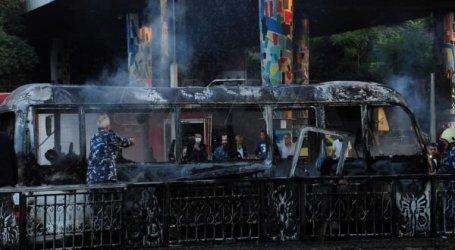 تفجير يستهدف حافلة عند جسر الرئيس في دمشق ويوقع قتلى.. التفاصيل كاملة
