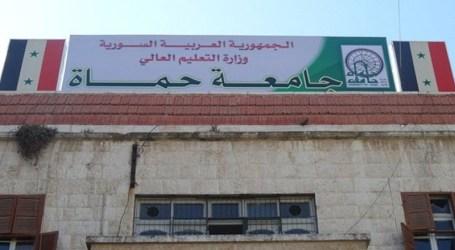 بشار الأسد يستحدث كليات هندسة جديدة في جامعة حماة