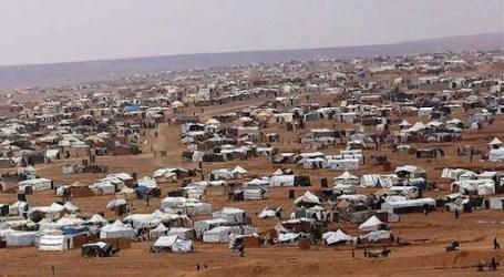 السلطة السورية تبتز نازحي مخيم الركبان على الحدود الأردنية