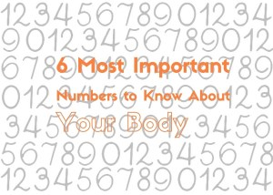 6 most important numbers