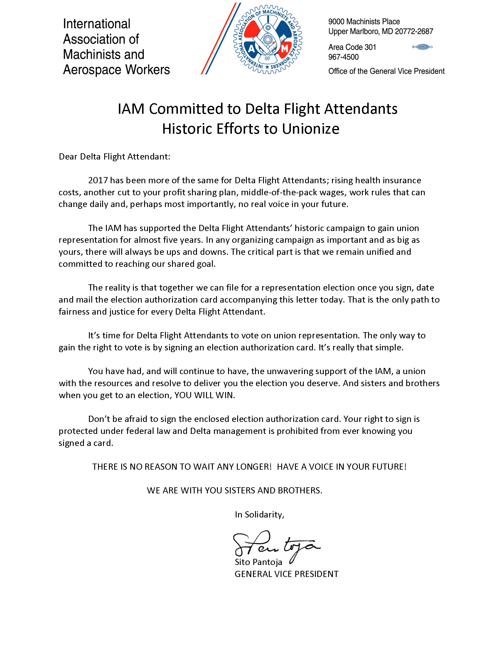 IAM Delta Flight Attendants Latest News And Info - Area code 301 in usa