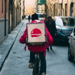 foodora, bike, delivery