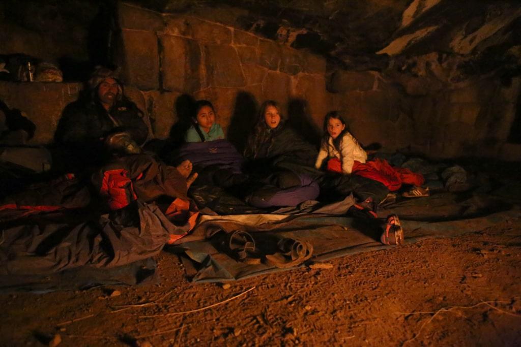 sleeping-in-the-Inca-cave