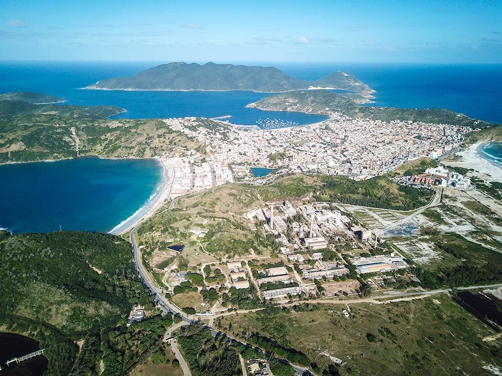 Arraial Do Cabo Drone view