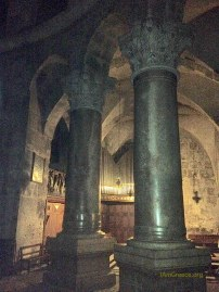 Church of the Holy Sepulchre - view of an interior section