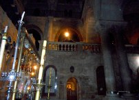 Church of the Holy Sepulchre – view of an interior section