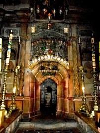 Church of the Holy Sepulchre – interior side room