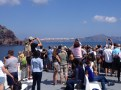 Approaching Santorini - What an experience!!!