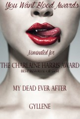 My Dead Ever After Gyllene - THE CHARLAINE HARRIS AWARD