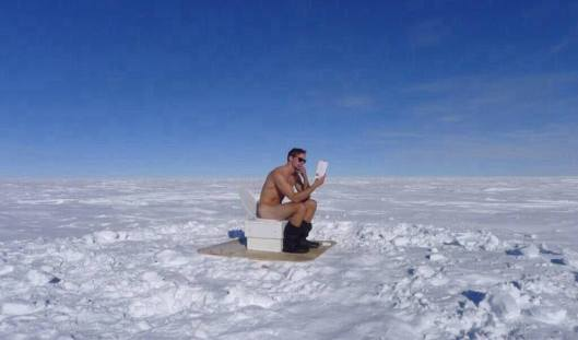 toilet in the south pole