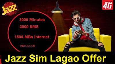 Jazz Sim Lagao Offer
