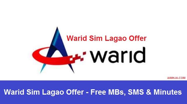 Warid Sim Lagao