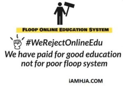 We Reject Online Edu