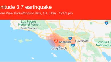 Photo of Earthquake California Los Angeles Rattled By 3.7 During Coronavirus Lockdown