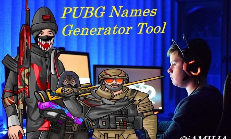 Photo of PUBG Names Generator