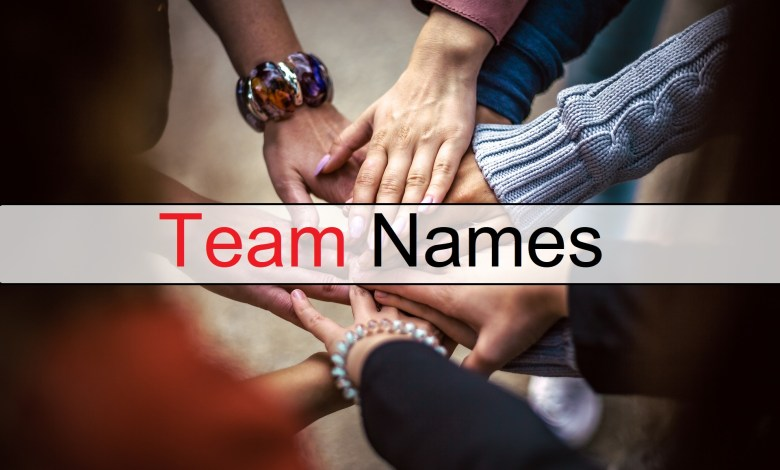 Photo of 1000+ Best Team Names Give Perfect Name To Your Team