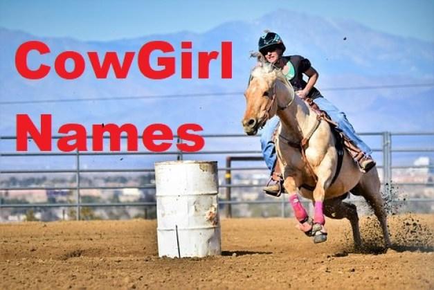 Cow Girl Names